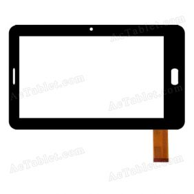 ZJ-70030B1-FPC Digitizer Glass Touch Screen Replacement for 7 Inch MID Tablet PC
