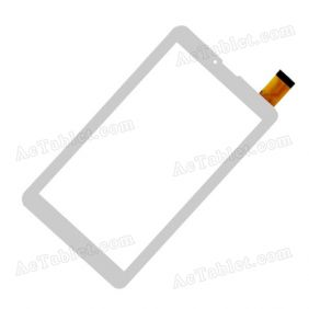 OPD-TPC410 FPC Digitizer Glass Touch Screen Replacement for 7 Inch MID Tablet PC