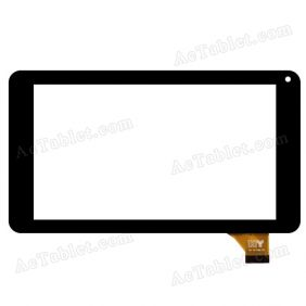 FPC-TP070215(708B)-03 Digitizer Glass Touch Screen Replacement for 7 Inch MID Tablet PC