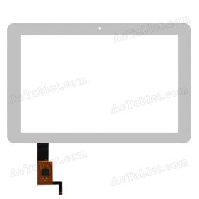 #131582E1V1.0-8 Digitizer Glass Touch Screen Replacement for 10.1 Inch MID Tablet PC