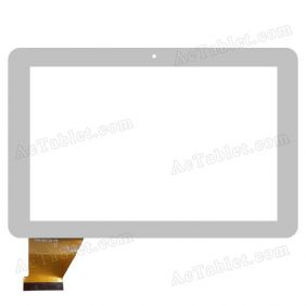 YTG-P10004-F8 V1.0 Digitizer Glass Touch Screen Replacement for 10.1 Inch MID Tablet PC