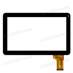 F0576 KDX Digitizer Glass Touch Screen Replacement for 10.1 Inch MID Tablet PC