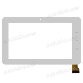 FPC-TP070413-00 Digitizer Glass Touch Screen Replacement for 7 Inch MID Tablet PC