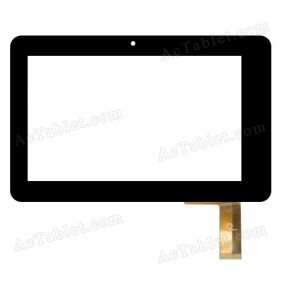 F0140 XDY Digitizer Glass Touch Screen Replacement for 7 Inch MID Tablet PC