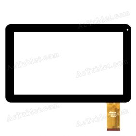 FPC-LZ1006101 V00 1007C--PW Digitizer Glass Touch Screen Replacement for 10.1 Inch Tablet PC