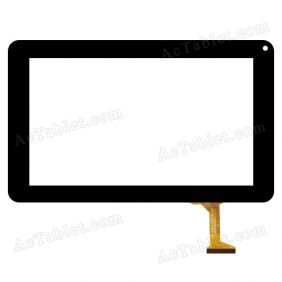 DH-0926-PG-FPC080-V2.0 Digitizer Glass Touch Screen Replacement for 9 Inch MID Tablet PC