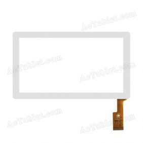 TPC0069 VER5.0 C Digitizer Glass Touch Screen Replacement for 7 Inch MID Tablet PC