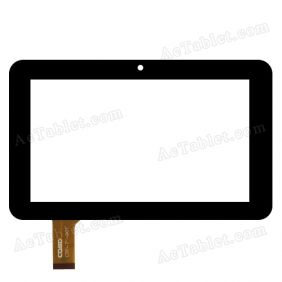 "CTP-7""-001 Digitizer Glass Touch Screen Replacement for 7 Inch MID Tablet PC"