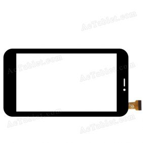 Ftouch GT70733 FHX Digitizer Glass Touch Screen Replacement for 7 Inch MID Tablet PC