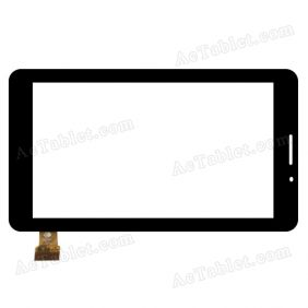 TPC1007 VER1.0 Digitizer Glass Touch Screen Replacement for 7 Inch MID Tablet PC