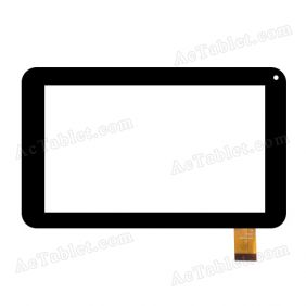 PB70A8490 Digitizer Glass Touch Screen Panel Replacement for 7 Inch Tablet PC
