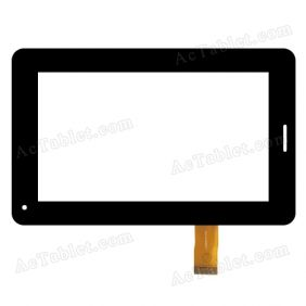 LZ1002070 Digitizer Glass Touch Screen Panel Replacement for 7 Inch Tablet PC