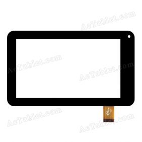 Ftouch GT70X FHX Digitizer Glass Touch Screen Panel Replacement for 7 Inch Tablet PC