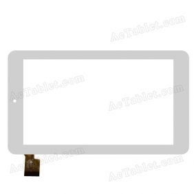 TPC0782 VER2.0 C Digitizer Glass Touch Screen Panel Replacement for 7 Inch Tablet PC