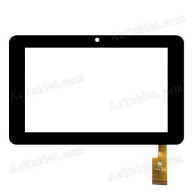 TPC0069 V4.0 C Digitizer Glass Touch Screen Panel Replacement for 7 Inch Tablet PC