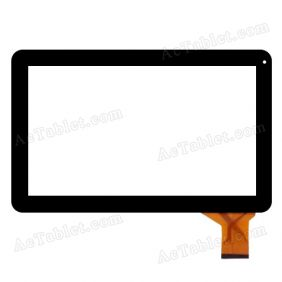 ZP9105-101 FPC VER.00 Digitizer Glass Touch Screen Replacement for 10.1 Inch MID Tablet PC