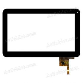 FM100902IA Digitizer Touch Screen Replacement for Venstar V100Q 10.1 Inch MID Tablet PC