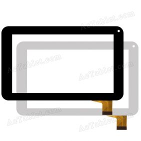 Digitizer Touch Screen for Sunstech Tab77 Dual 7 Inch Tablet PC Replacement