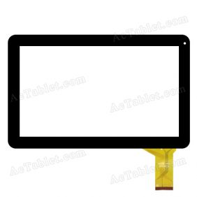 Digitizer Touch Screen Replacement for Overmax Quattor 10 (OV-Quattor 10) 10.1 Inch Tablet PC