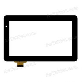 YCG-C7.0-0060A-FPC-03 Digitizer Glass Touch Screen Replacement for 7 Inch MID Tablet PC