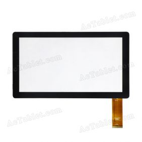 Digitizer Touch Screen Replacement for DOMO Slate N8 3RD Allwinner A13 7 Inch MID Tablet PC