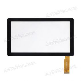 Touch Screen Replacement for DOMO Slate X15 Dual Core 7 Inch MID Tablet PC