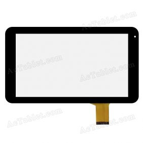 WJ510 FPC-V1.0 2013-12-11 A-6706A Digitizer Glass Touch Screen Replacement for 10.1 Inch Tablet PC