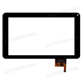 FPC-CTP-0900-001-3 Digitizer Glass Touch Screen Replacement for 9 Inch MID Tablet PC