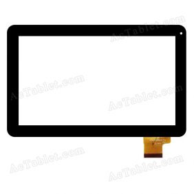 YTG-P10019-F4 Digitizer Glass Touch Screen Replacement for 10.1 Inch MID Tablet PC
