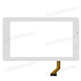 SKD13036-FPC-V0 JQFP07028A Digitizer Glass Touch Screen Replacement for 7 Inch MID Tablet PC