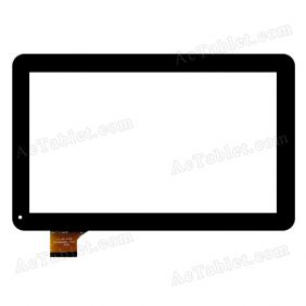 HOTATOUCH C159257E1 DRFPC229T-V1.0 Digitizer Touch Screen Replacement for 10.1 Inch PC