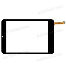 FPC-TP785030-00 RXS Digitizer Glass Touch Screen Replacement for 7.9 Inch MID Tablet PC