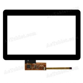 300-N3368D-A00-V1.0 Digitizer Glass Touch Screen Replacement for 7 Inch MID/Coby Tablet PC
