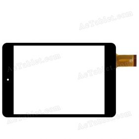F0490 Digitizer Glass Touch Screen Replacement for 7.9 Inch MID Tablet PC