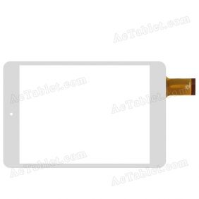 UDN706 WQ-FPC-0014-RHX Digitizer Glass Touch Screen Replacement for 7.9 Inch MID Tablet PC