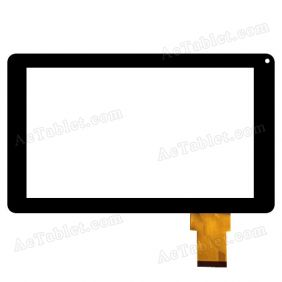 YJ044FPC-V0 F900H APC Digitizer Glass Touch Screen Replacement for 9 Inch MID Tablet PC