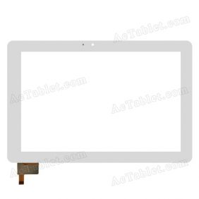 F0723 KDX. Digitizer Glass Touch Screen Replacement for 10.1 Inch MID Tablet PC