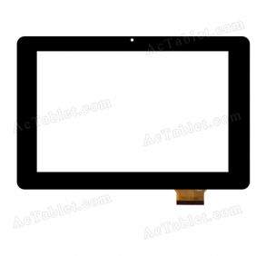 F0382 XDY Digitizer Glass Touch Screen Replacement for 10.1 Inch MID Tablet PC