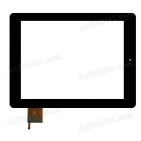 F0203 X Digitizer Glass Touch Screen Replacement for 9.7 Inch MID Tablet PC