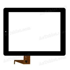 F0151 XDY Digitizer Glass Touch Screen Replacement for 9.7 Inch MID Tablet PC