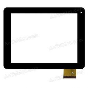 F0618 X Digitizer Glass Touch Screen Replacement for 8 Inch MID Tablet PC