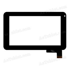 F0267 XDY Digitizer Glass Touch Screen Replacement for 7 Inch MID Tablet PC