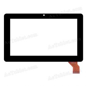 HSCTP-001 Digitizer Glass Touch Screen Replacement for 7 Inch MID Tablet PC