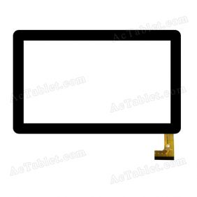 TPC0279 VER2.0 Digitizer Glass Touch Screen Replacement for 10.1 Inch MID Tablet PC