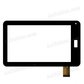 RP-024A-7.0-FPC-01 Digitizer Glass Touch Screen Replacement for 7 Inch MID Tablet PC