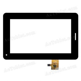 CTP186-070-A V1.0 Digitizer Glass Touch Screen Replacement for 7 Inch MID Tablet PC