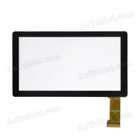 C.FPCWT1017A070V01 Digitizer Glass Touch Screen Replacement for 7 Inch MID Tablet PC