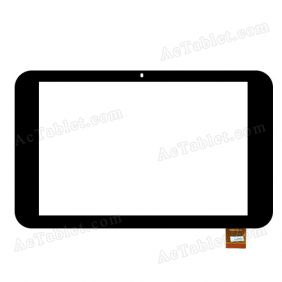 070305-01A-V1 Digitizer Glass Touch Screen Replacement for 7 Inch MID Tablet PC