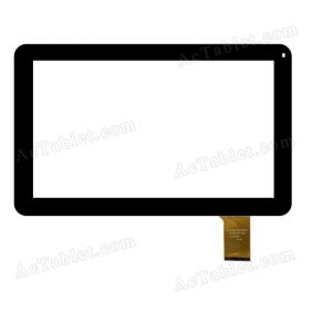 DH-1019A1-PG-FPC075 Digitizer Glass Touch Screen Replacement for 10.1 Inch MID Tablet PC