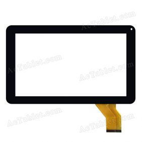 WJ583=V1.0 Digitizer Glass Touch Screen Replacement for 9 Inch MID Tablet PC